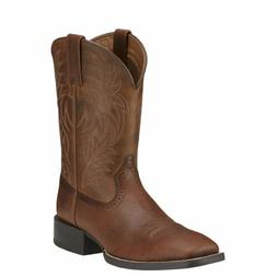 """Ariat 10016291 Sport Western Wide Square Toe 11"""" Pull On Wes"""