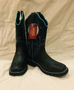 Black Justin Gypsy Collection  Womens Western Boot