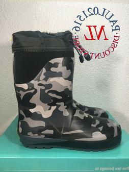 NEW Western Chief Boys' Ridge Camo Neoprene Rain Boots ~ Var