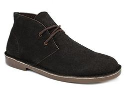 Bruno Marc Men's Francisco-High Brown Suede Leather Chukka D
