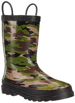 Western Chief Kids Camo Rain Boot ,Camoflage,2 M US Little K