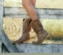 coconuts by gaucho cowgirl western boots tan