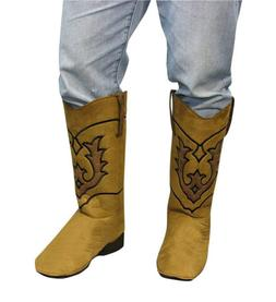 Cowboy Boot Top Cover Costume Accessory Adult