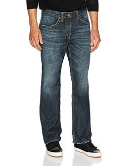 Silver Jeans Men's Co Craig Bootcut, Dark Vintage Wash, 33x3