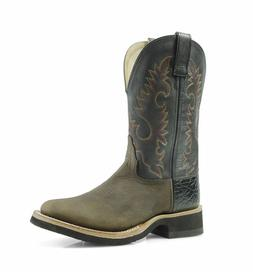 Old West Crepe Sole Deertan Men's Leather Western Boot 1651M