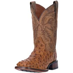 Dan Post Mens Alamosa Western Cowboy Boots Ostrich Leather S