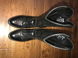 Laredo Embroidered Round toe western boots