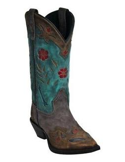 Laredo Fashion Boots Womens Miss Kate Arrow Snip Toe Tan Tea
