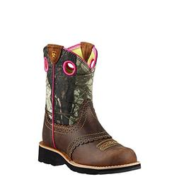 Ariat Fatbaby Cowgirl Western Boot ,Rough Brown/Camo,5 M US