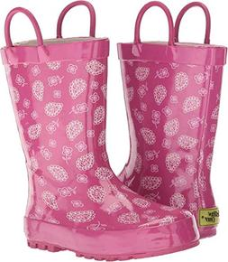 Western Chief Girls' Waterproof Printed Rain Boot, Vintage P