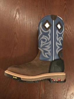 Justin Commander-X5 Work Boots for Men Size 10D Style# WK211