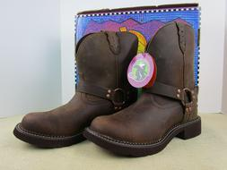 JUSTIN L9992 WOMENS HARNESS BOOTS GYPSY COLLECTION NEW IN BO