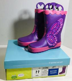 kids betty butterfly boots size 11 youth