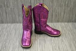 Old West Kids Boots Gina Western Boots, Little Girl's Size 1