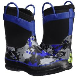 Western Chief Kids Boys Black & Blue Paint Ball Splat Neopre