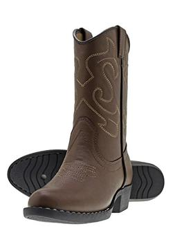 Canyon Trails Kids' Lil Cowboy Pointed Toe Classic Western B