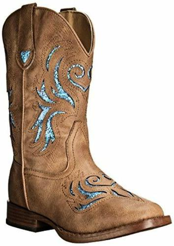 Roper 09-018-1901-1549 TA Glitter Breeze Western Boot