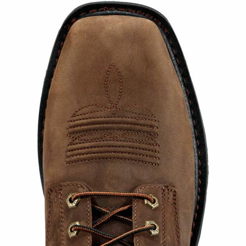 Non Slip Riding Style Work Boots