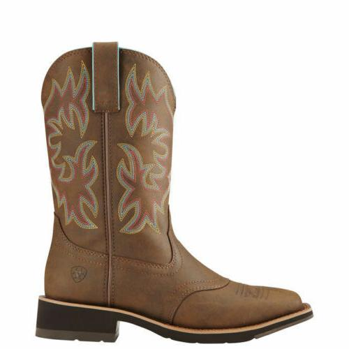 "Ariat Delilah 10"" Wide Cowgirl Boots"