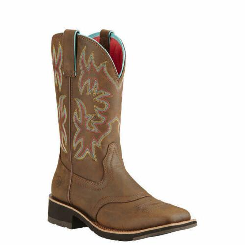 10018676 delilah 10 wide square toe western