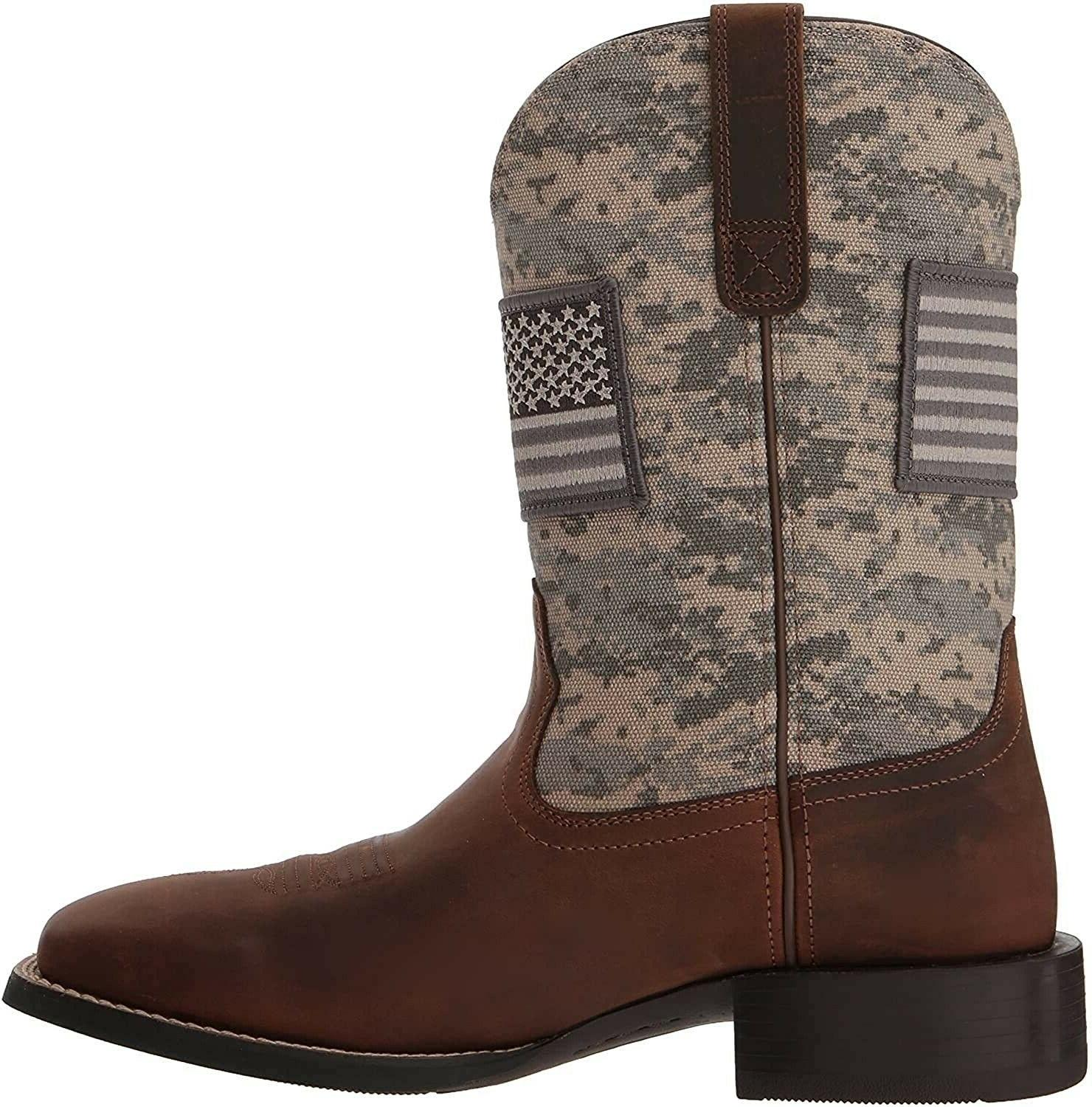 Ariat 244038 Patriot Boots Camo Print Wide