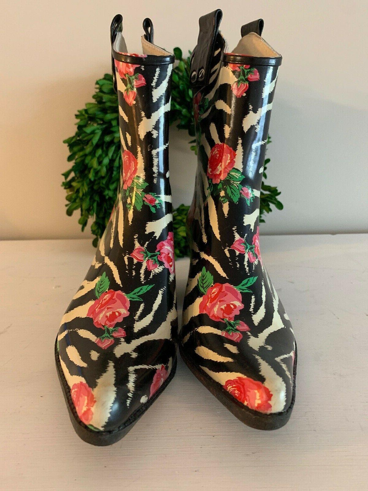 NOMAD Boot YIPPY Cowboy Rose Size LG 1 or 2