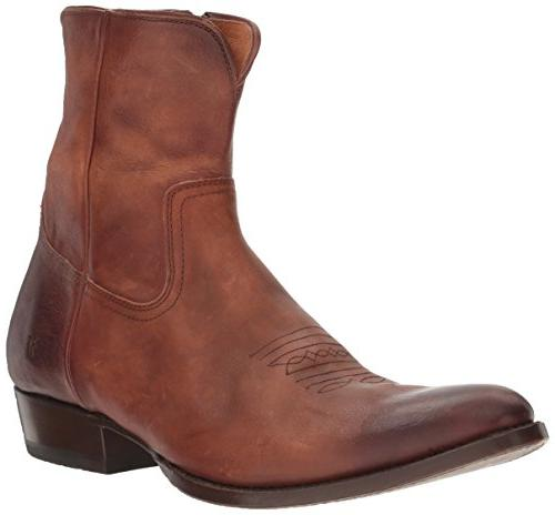 austin inside zip western boot