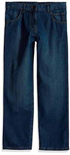 Wrangler Authentics Boys' Relaxed Straight Jean, Larado, 4