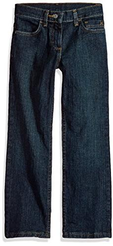 Wrangler Authentics Boys' Straight Fit Stretch Jean, moonlig