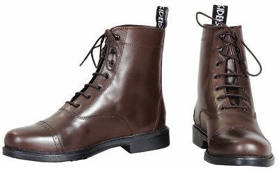 baroque laced paddock riding boots ladies full