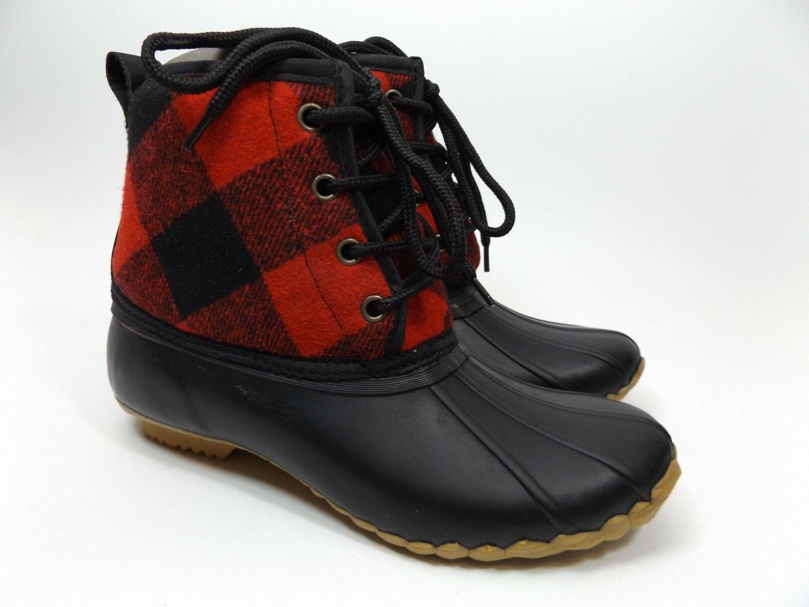 Western Basic Duck SZ 7.0 M Red DISPLAY D9115