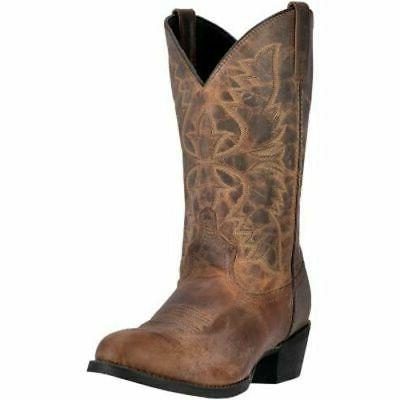 Laredo Men's Birchwood Medium/Wide Cowboy Boots  - 11.5 D