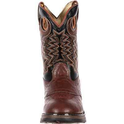 Durango 8in and Black Saddle Boot,