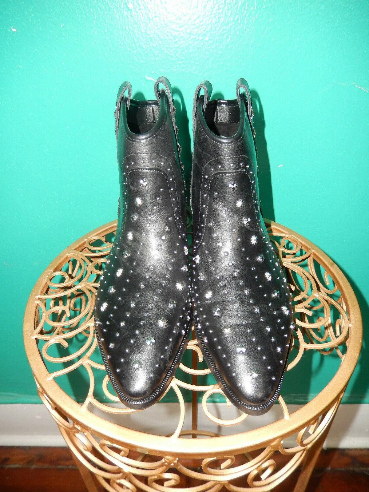 SAM LEATHER BOOTS 8