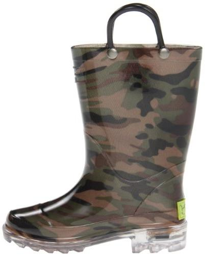 Western Boys Rain Boots that up with Camo M US Toddler