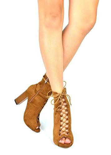 Chase Chloe Lace-Up Heel