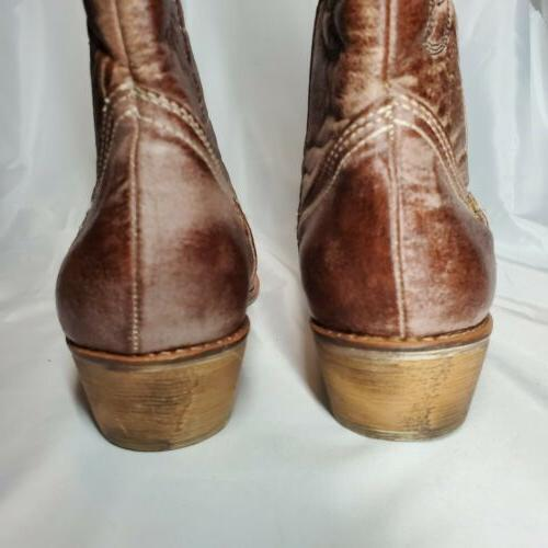 Coconuts Matisse Cowgirl Size 8M Faux