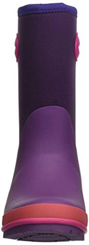 Western Chief Neoprene Boot Memory Foam Snow, Purple, US