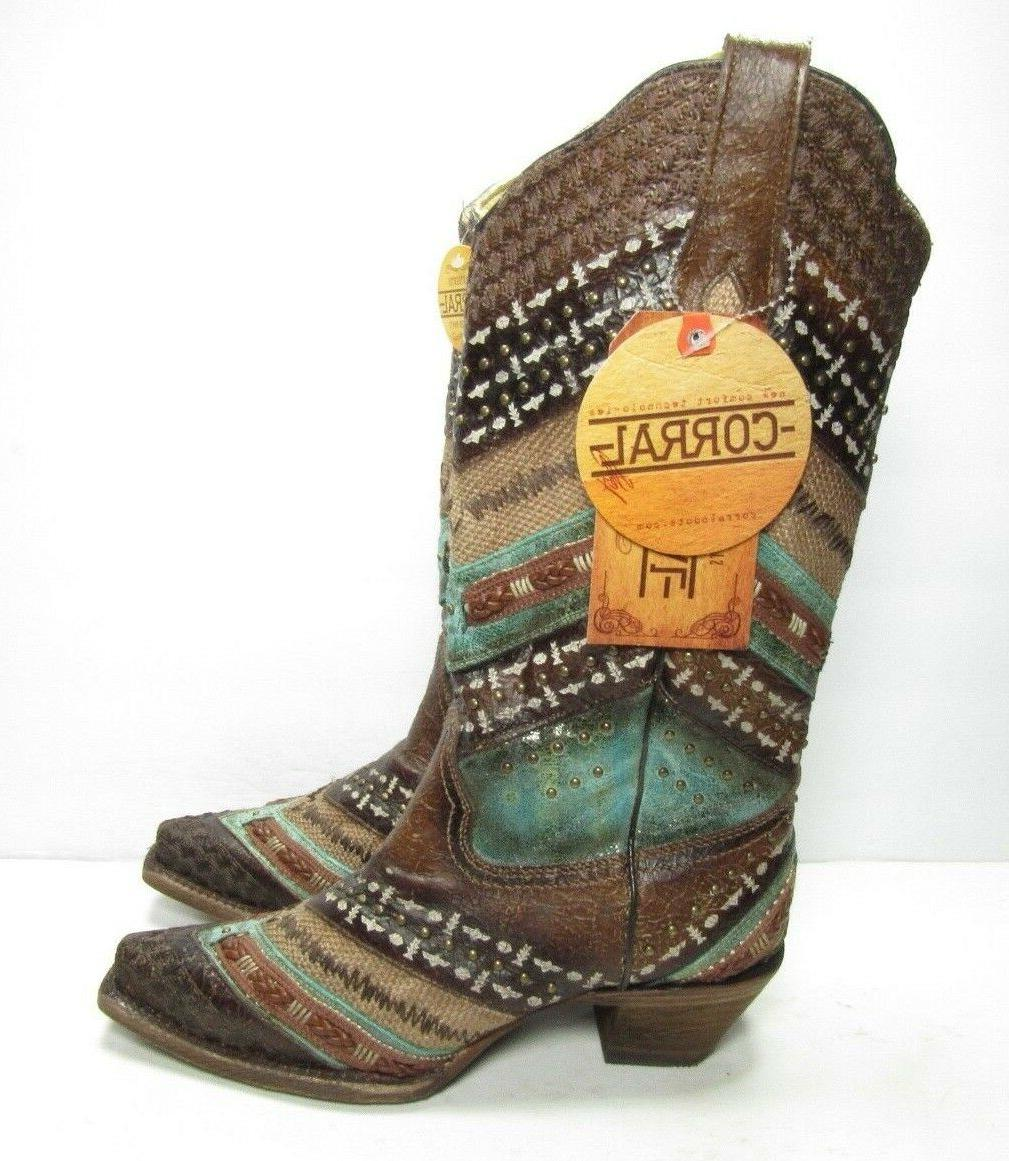 Corral and Snip Women's Size:7.5 M