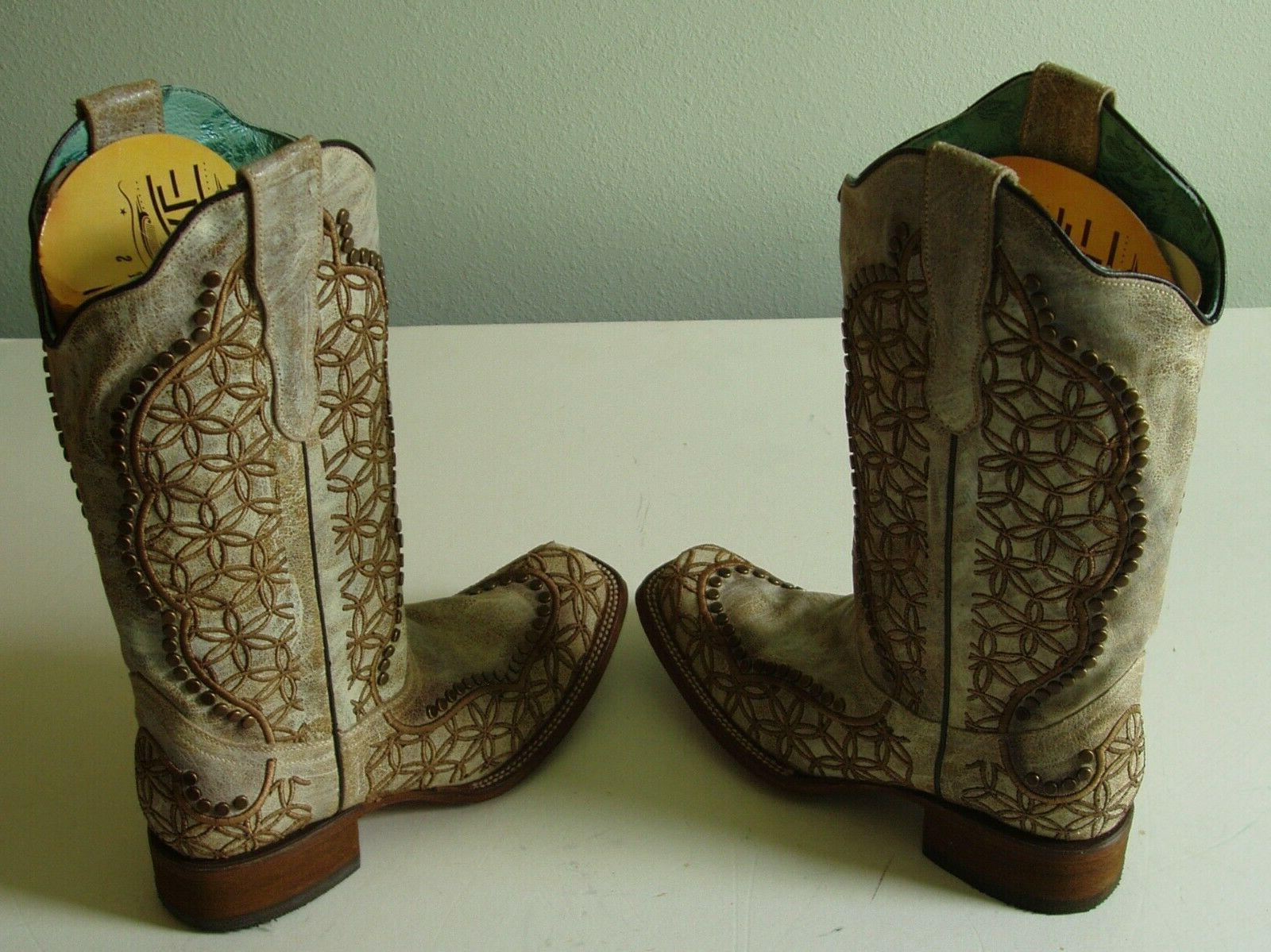 CORRAL WOMAN'S FLORAL WESTERN 1393 SIZE
