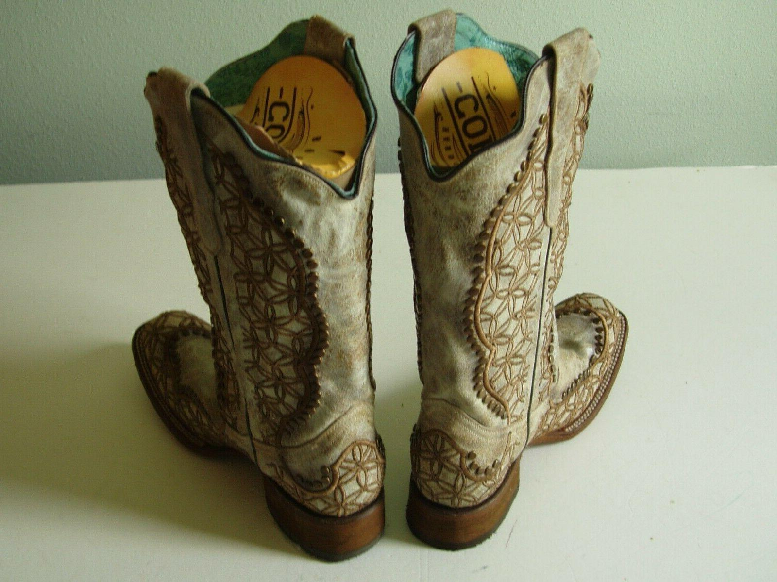 CORRAL WOMAN'S WESTERN BOOTS 1393 SIZE