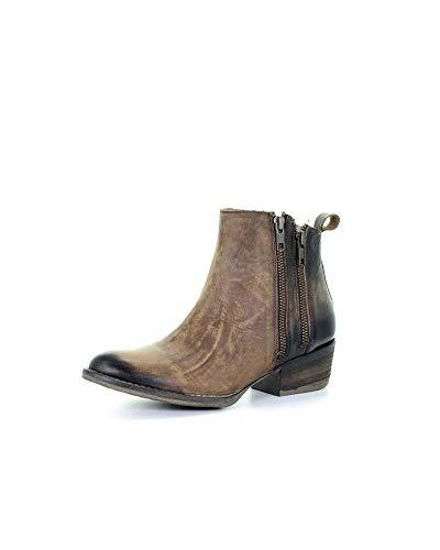 corral women s 6 inch burnished brown