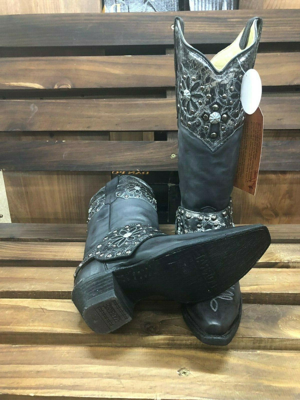 Corral Womens Studs & Harness Western E1187 Size