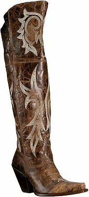 Dan Post Boots Women's Amy Western Boot, Brown, Size 7.0 HMj