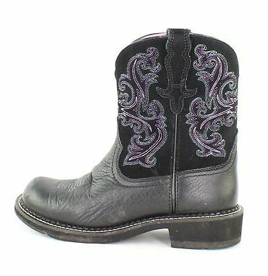 Ariat Ladies Fatbaby II Boots 9 Black