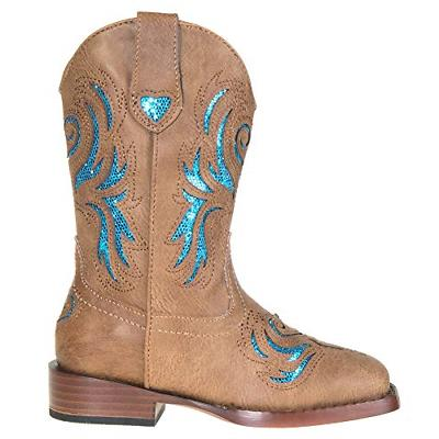 Roper Glitter Western Tan, 2 M Little