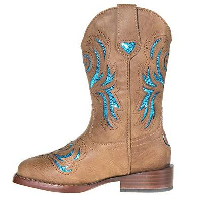 Roper Glitter Western Boot, M US Little