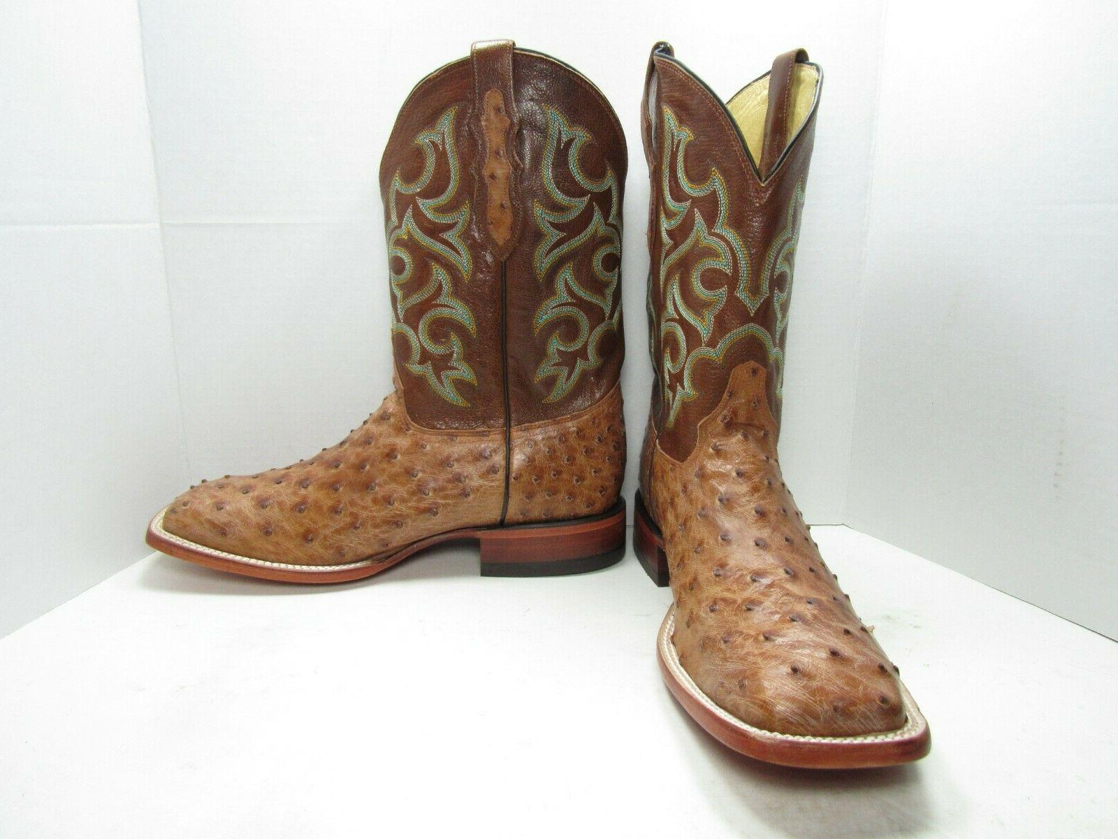 Justin Quill Western Boots, Size:11 Medium