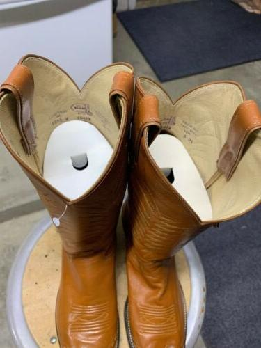 Justin Western Boots 10 D. Wingtip