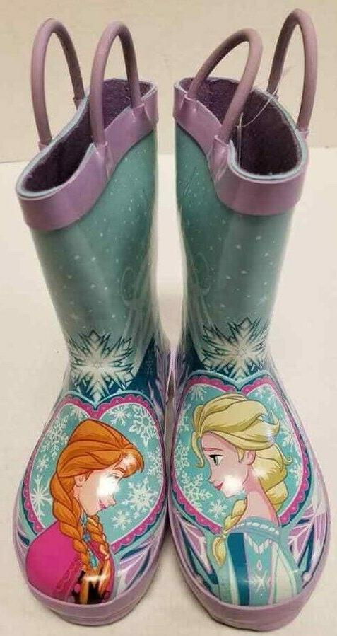 Disney Frozen Elsa Toddler Size US 9M Rain